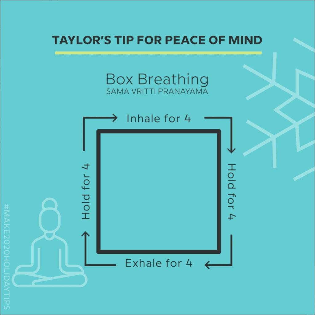 make advent calendar box breathing exercise